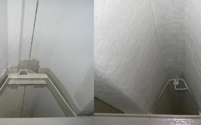 断熱材復旧工事のイメージ