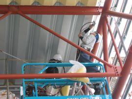 断熱材施工例(ひさしの後貼り)2